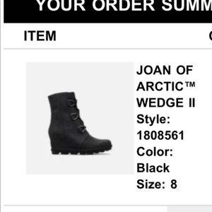 Never worn - Joan of arctic sorel boots